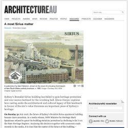 2016.08.30 ArchitecturAU