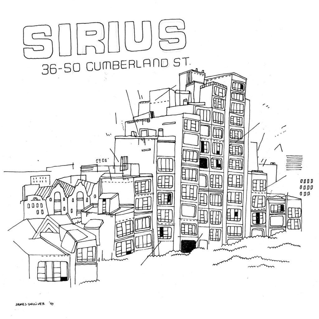 Sirius Illustration by James Gulliver Hancock